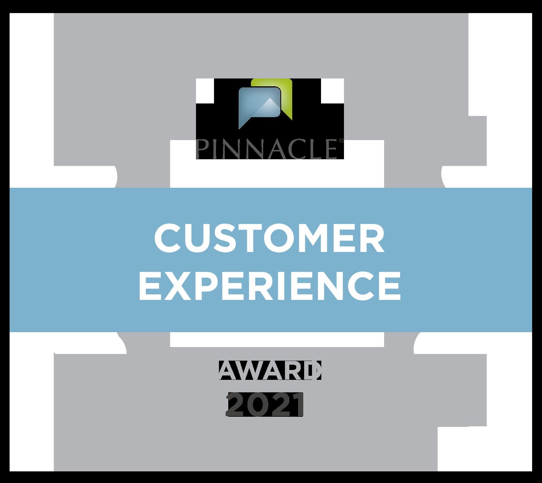 2021 Customer Experience Award