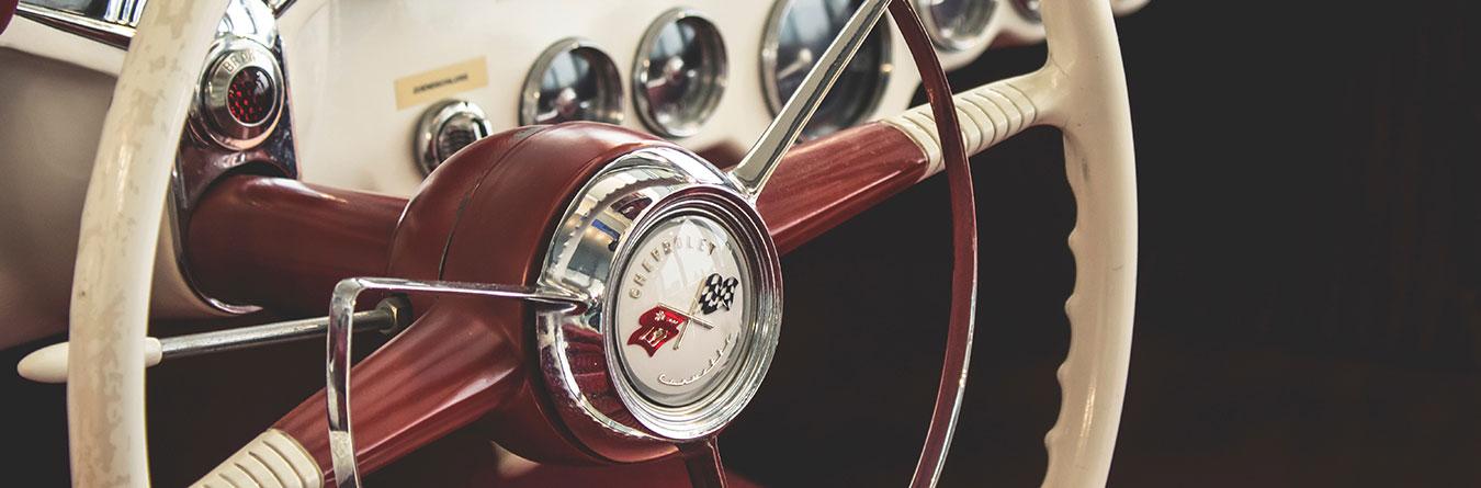 old Chevrolet interior