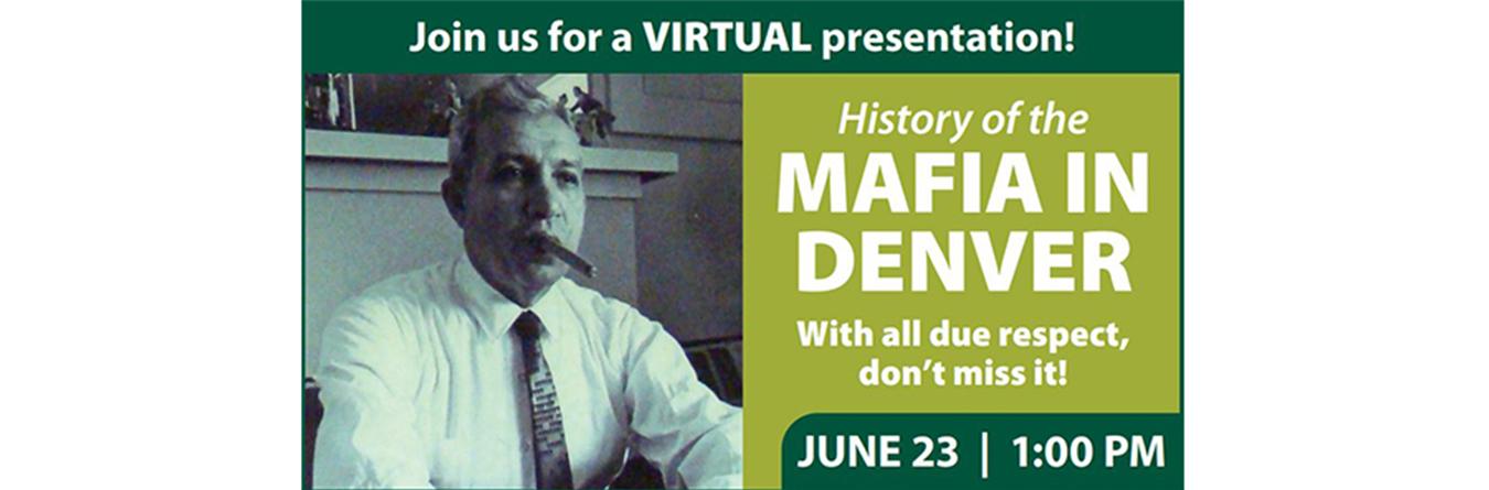 History of Mafia event banner