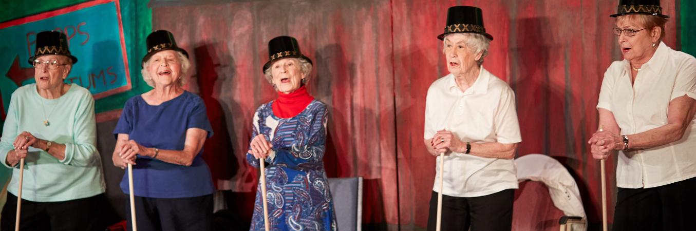 Pursuing Passion in senior living community